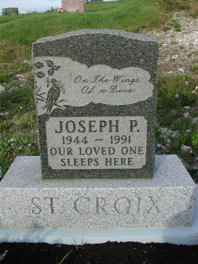 ST CROIX, Joseph P (1991) STM03-9450