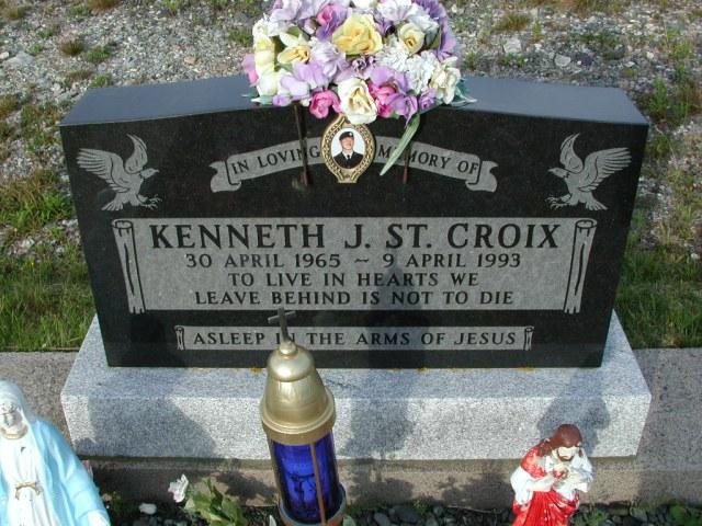 ST CROIX, Kenneth J (1993) STM03-9446