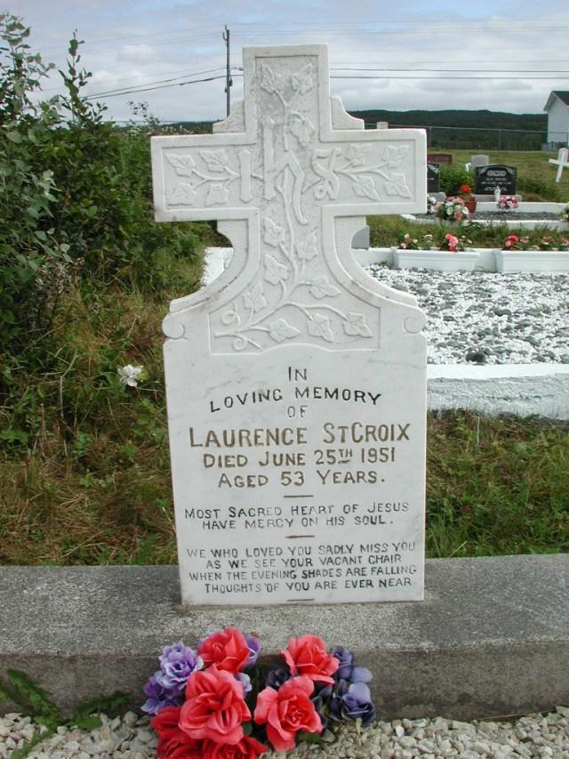 ST CROIX, Laurence (1951) STM01-2474