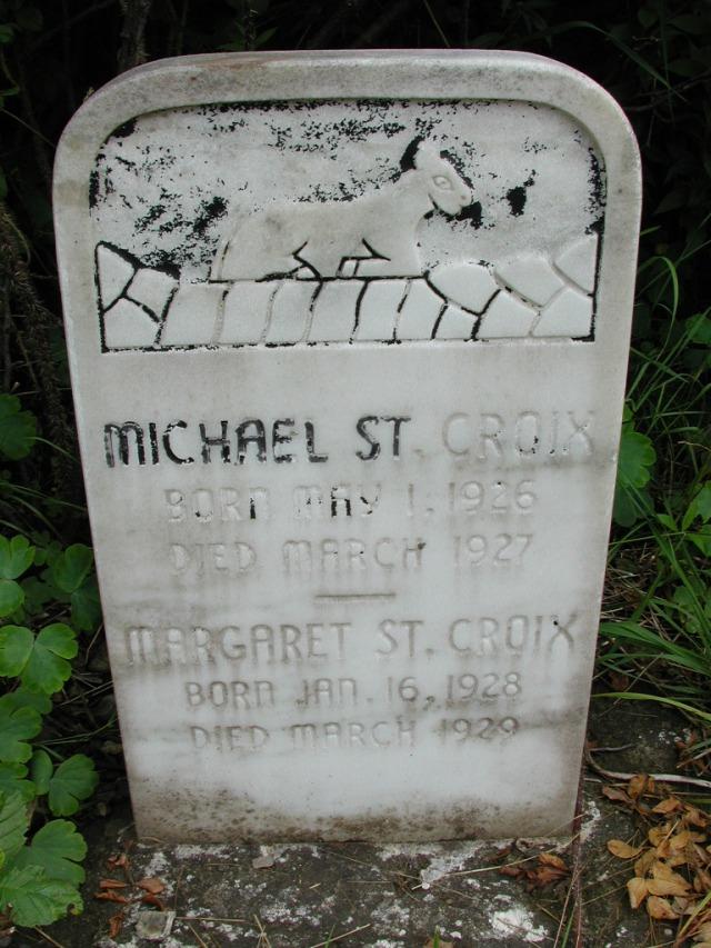 ST CROIX, Michael (1927) & Margaret (1929) STM01-8122
