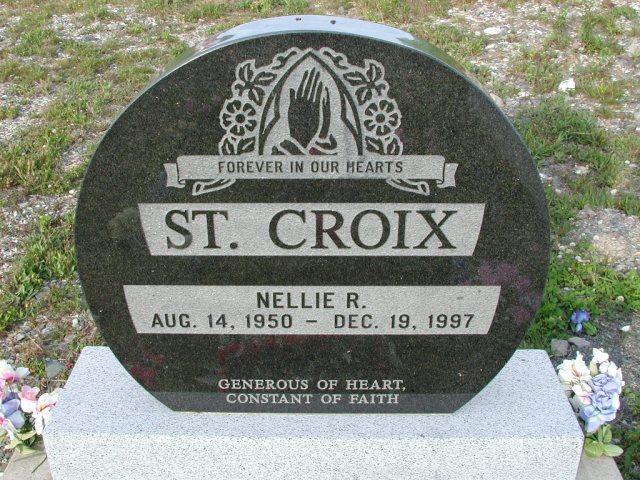 ST CROIX, Nellie R (1997) STM03-9449