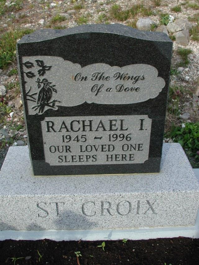 ST CROIX, Rachael I (1996) STM03-9451