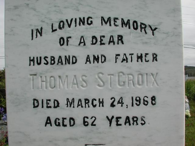 ST CROIX, Thomas (1968) STM01-2365