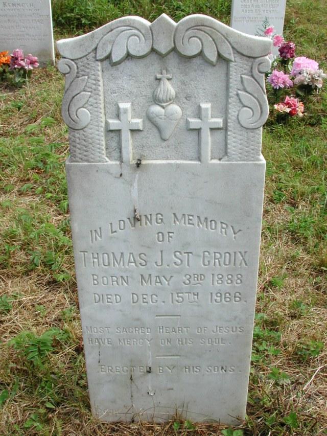 ST CROIX, Thomas J (1966) STM01-8159