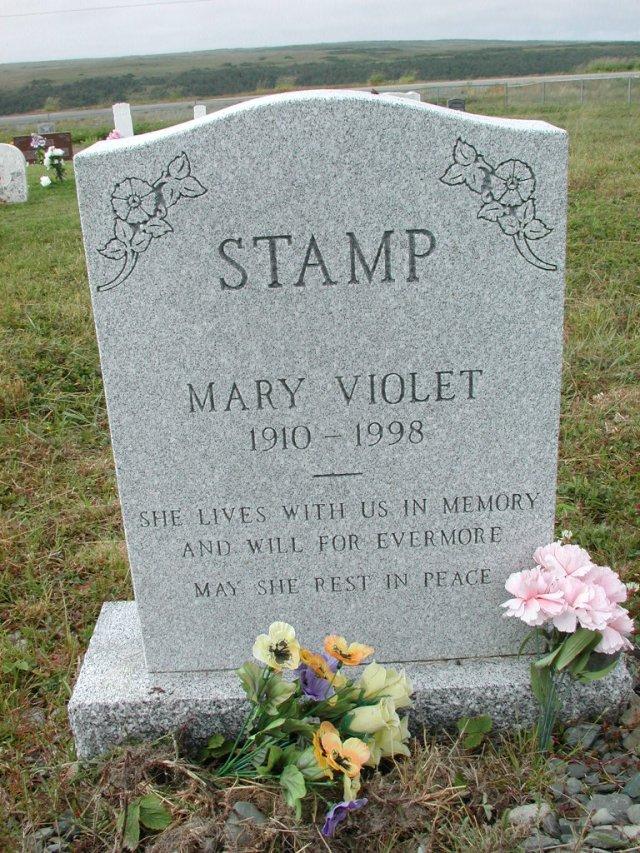 STAMP, Mary Violet (1998) SSH01-3307