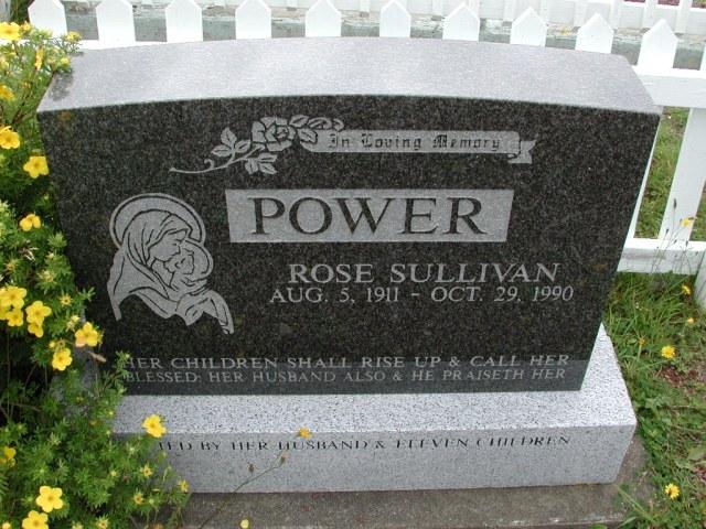 SULLIVAN, Rose (1990) BRA01-3150