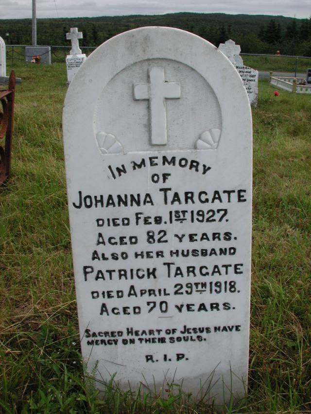 TARGATE, Patrick (1918) & Johanna (1927) STM01-2322