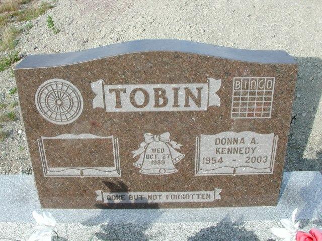 TOBIN, Donna A Kennedy (2003) STM03-9442