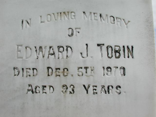 TOBIN, Edward J (1970) STM01-2503