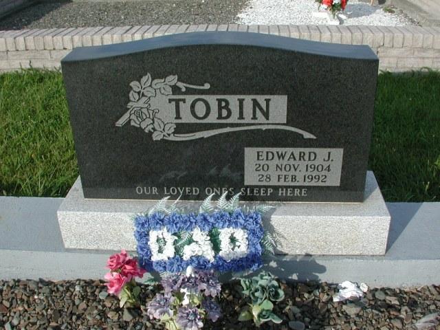 TOBIN, Edward J (1992) STM03-3662