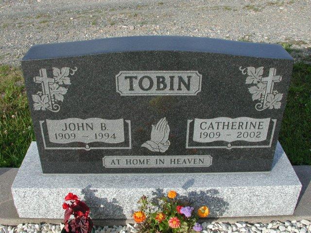 TOBIN, John B (1994) & Catherine (2002) STM03-9417