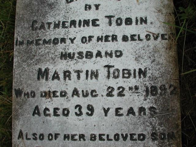 TOBIN, Martin (1892) & Patrick (1902) STM01-2298