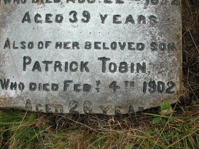 TOBIN, Martin (1892) & Patrick (1902) STM01-2299