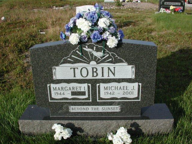 TOBIN, Michael J (2001) & Margaret I STM03-3658
