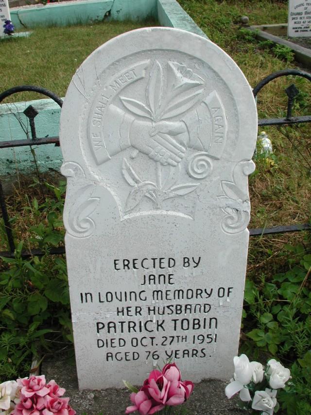 TOBIN, Patrick (1951) STM01-2501