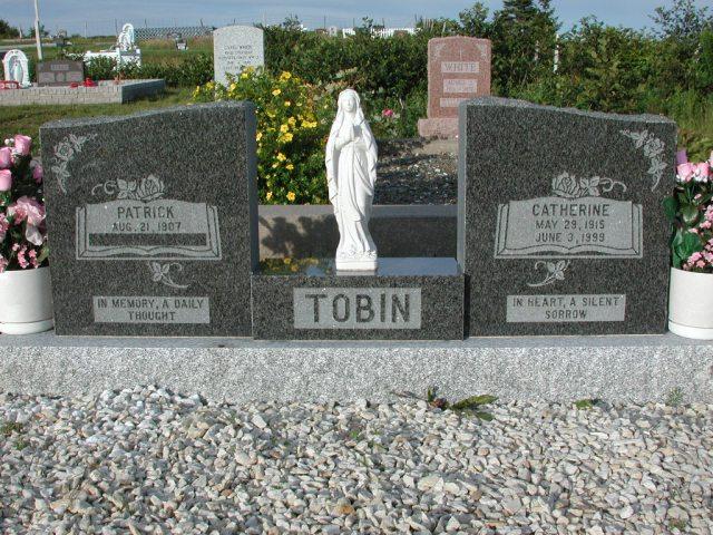 TOBIN, Patrick (xxxx) & Catherine (1999) STM03-3693