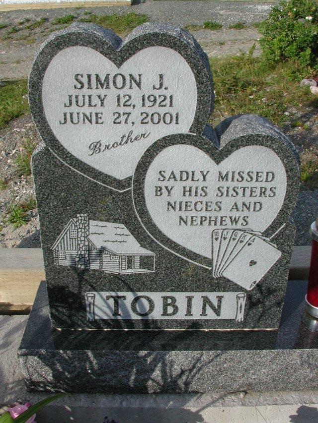 TOBIN, Simon J (2001) STM03-9414