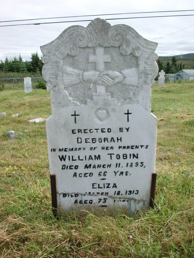 TOBIN, William (1895) & Eliza (1913) STM01-2355