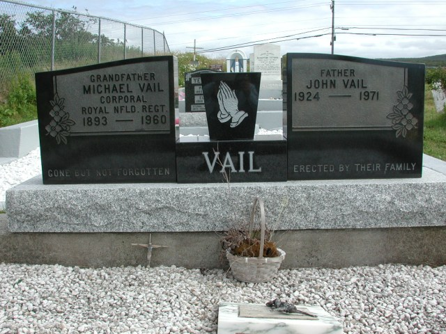 VAIL, Michael (1960) & John (1971) STM01-2460