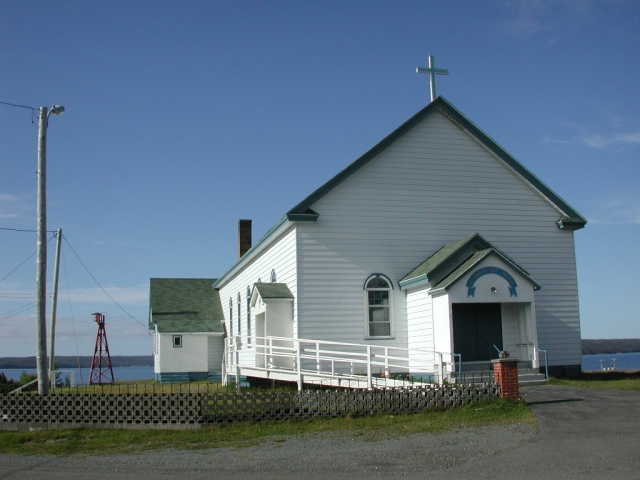 -Vicinity - church, front STM02-2605