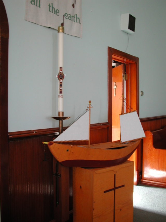 -View - inside church STM02-2614