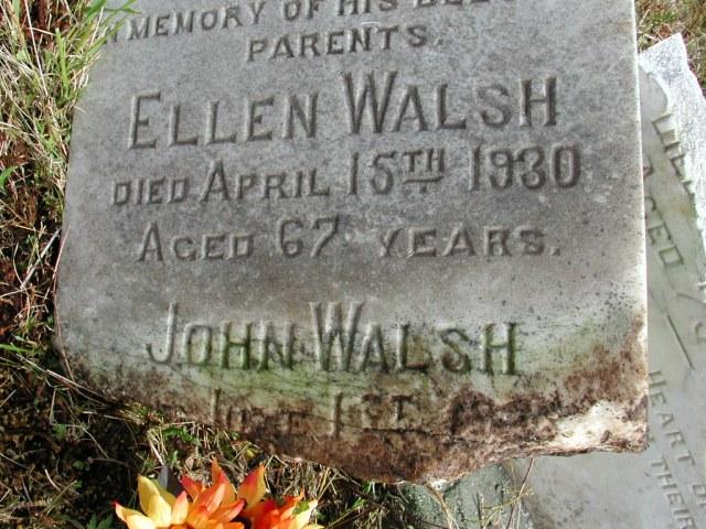 WALSH, John (19xx) & Ellen (1930) STM01-8172