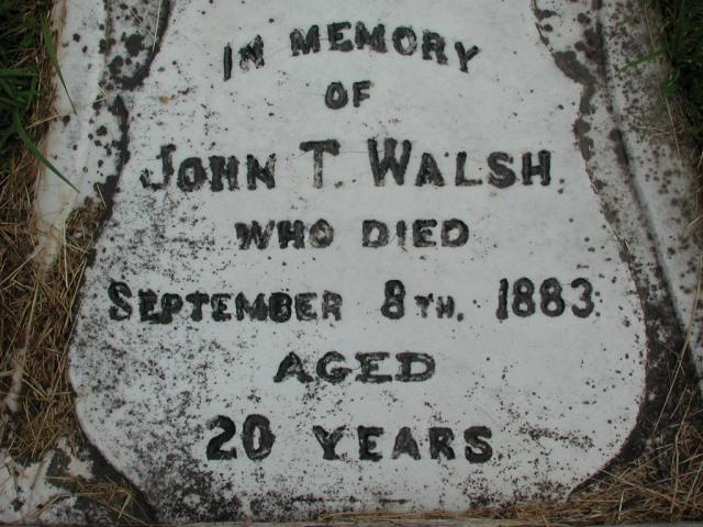 WALSH, John T (1883) STM01-2332