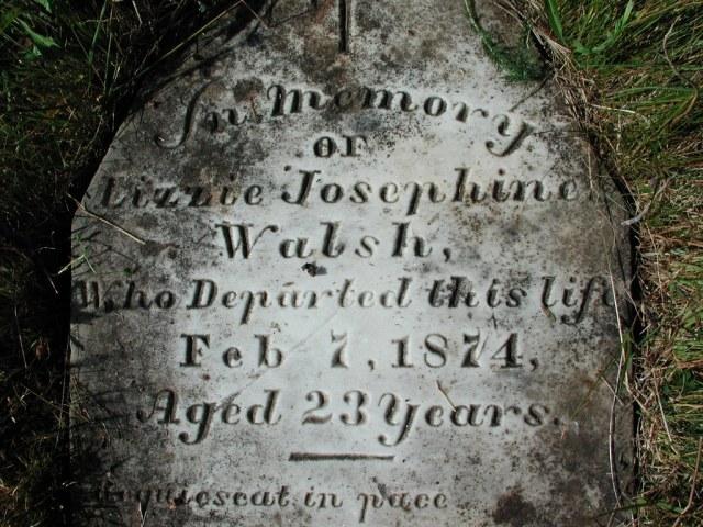 WALSH, Lizzie Josephine (1874) STM02-2576