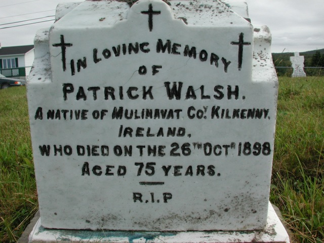 WALSH, Patrick (1898) STM01-2330