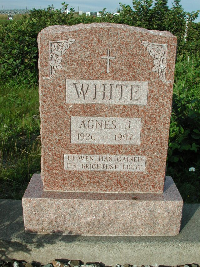 WHITE, Agnes J (1997) STM03-3694