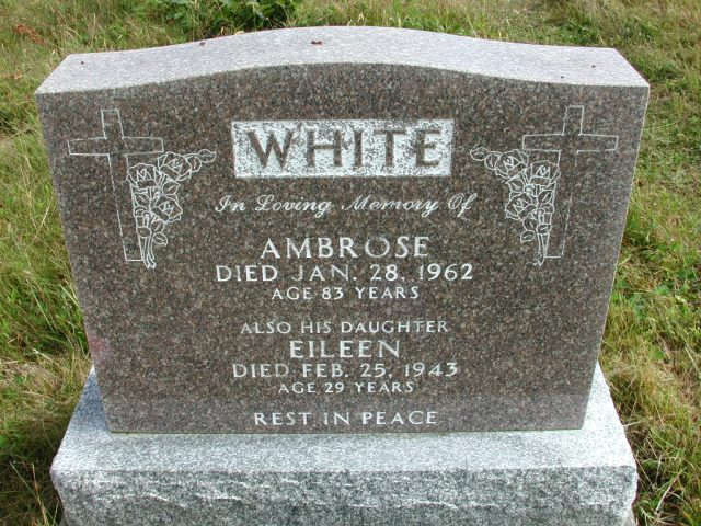 WHITE, Ambrose (1962) & Eileen (1943) STM01-8246