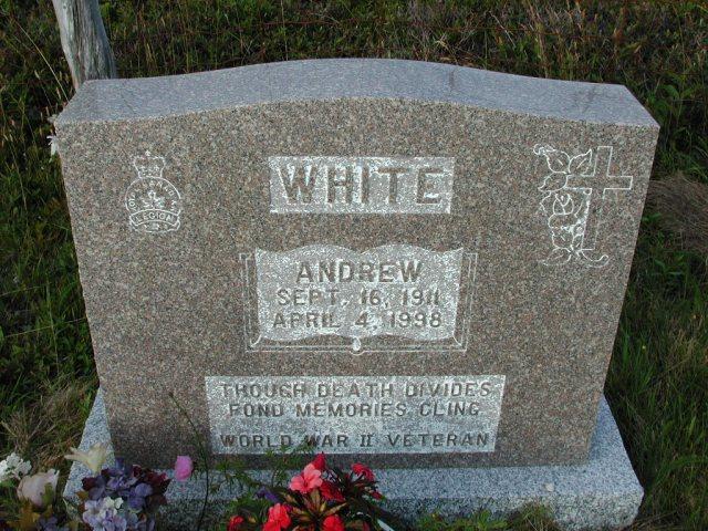 WHITE, Andrew (1998) STM03-9492