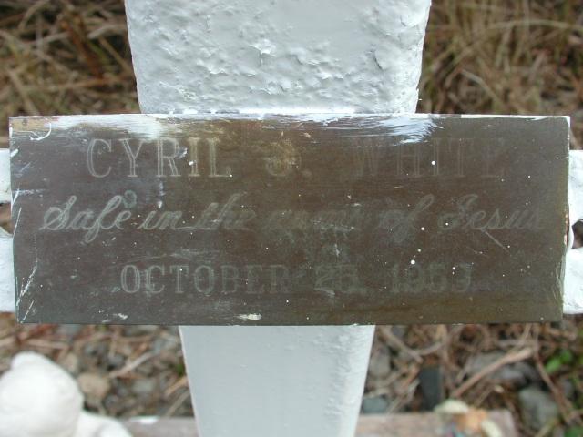 WHITE, Cyril J (1959) STM01-8316