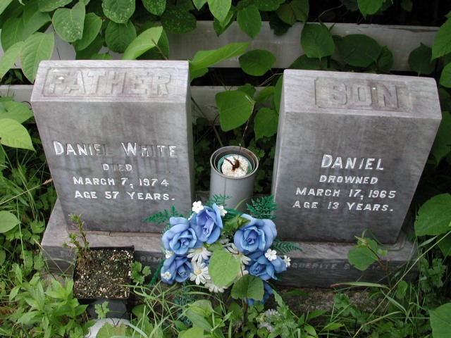 WHITE, Daniel (1974) & Daniel (1965) STM01-8116
