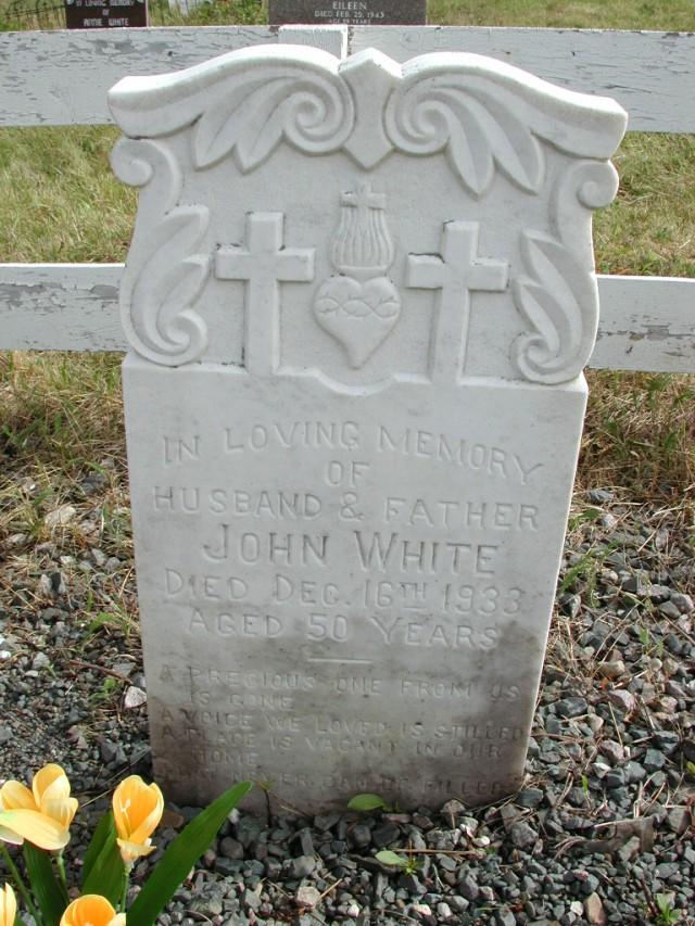 WHITE, John (1933) STM01-8237