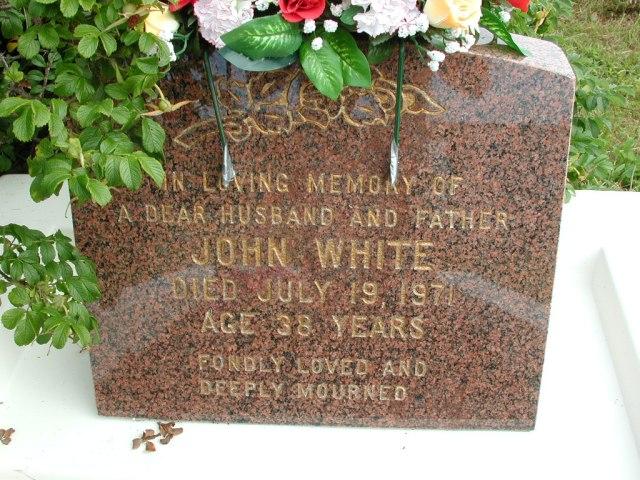 WHITE, John (1971) STM01-8314