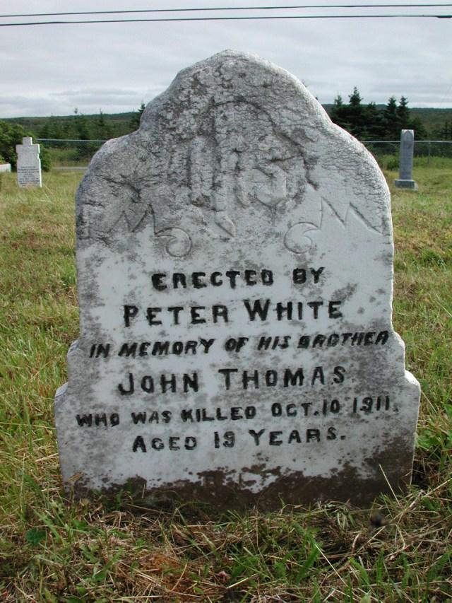 WHITE, John Thomas (1911) STM01-2345