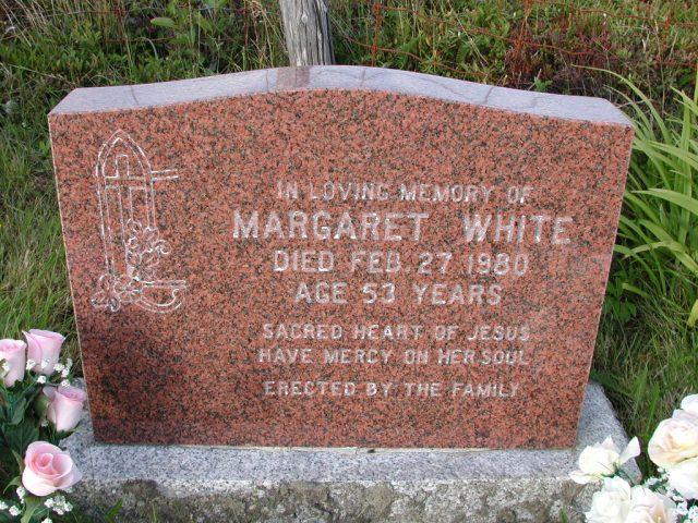 WHITE, Margaret (1980) STM03-9493