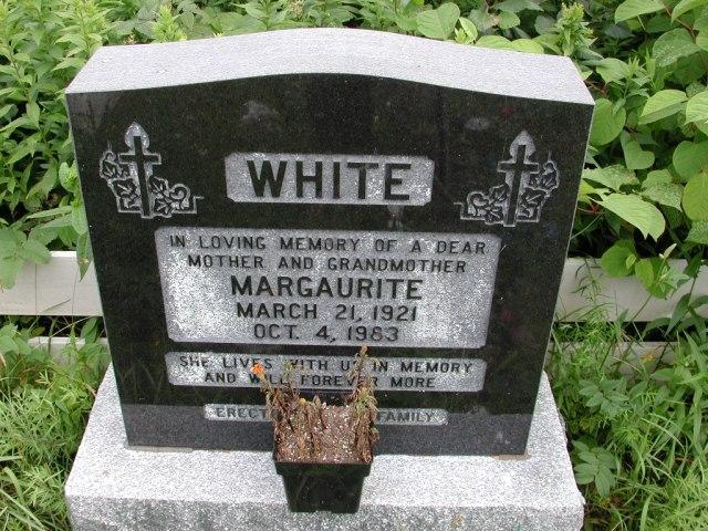 WHITE, Margaurite (1983) STM01-8117