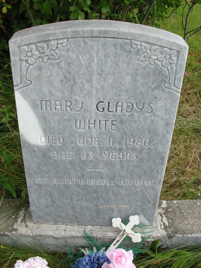 WHITE, Mary Gladys (1980) STM01-8309