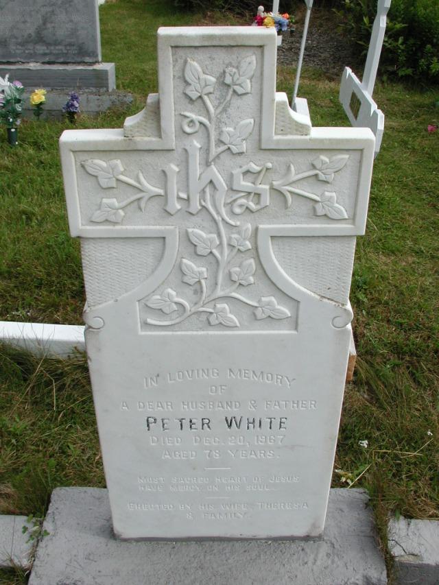WHITE, Peter (1967) STM01-8301