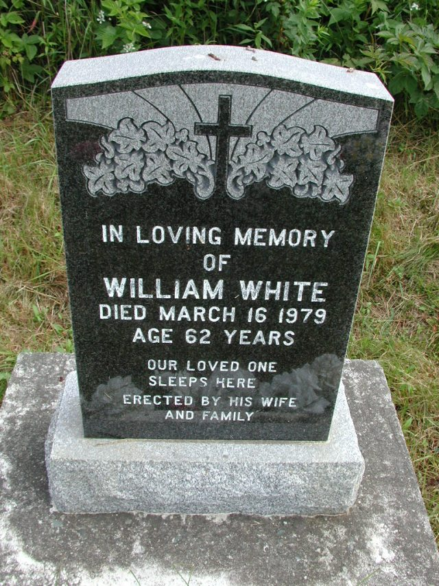 WHITE, William (1979) STM01-8285