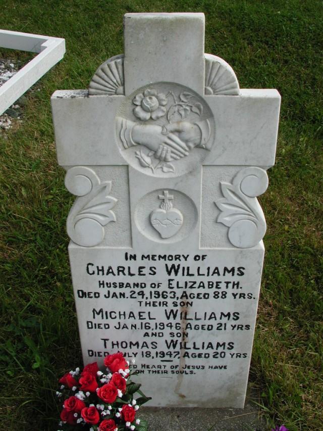 WILLIAMS, Charles (1963) & Michael & Thomas STM01-8161