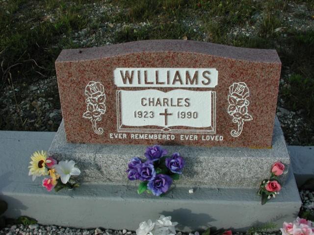 WILLIAMS, Charles (1990) STM03-3715