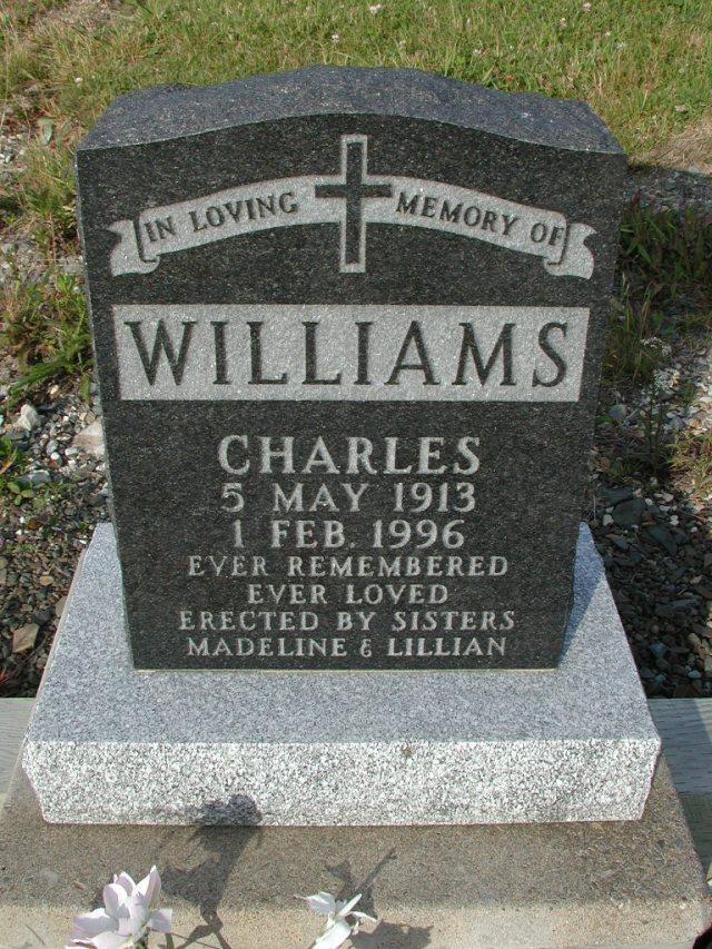 WILLIAMS, Charles (1996) STM03-9425