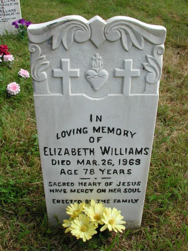 WILLIAMS, Elizabeth (1969) STM01-8160