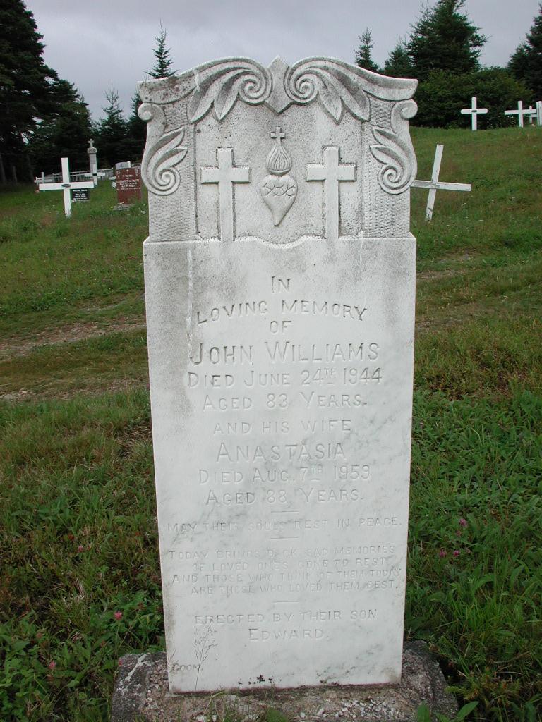 WILLIAMS, John (1944) & Anastasia (1959) MCM01-1389