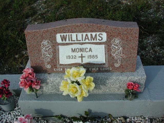 WILLIAMS, Monica (1985) STM03-3714