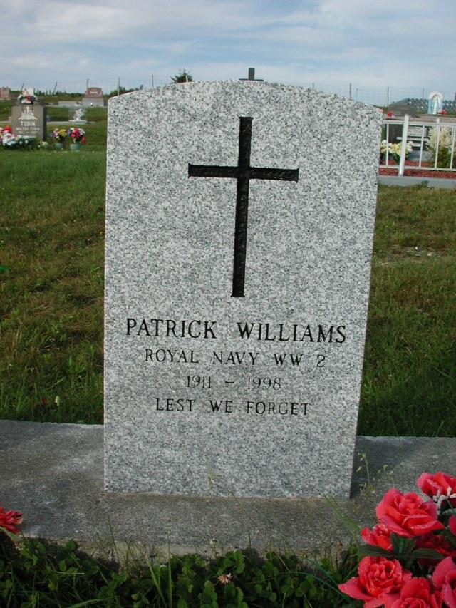 WILLIAMS, Patrick (1998) STM03-3712