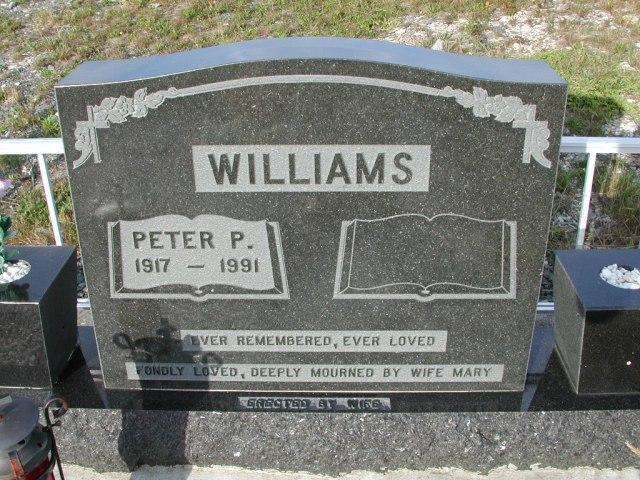 WILLIAMS, Peter P (1991) STM03-9424